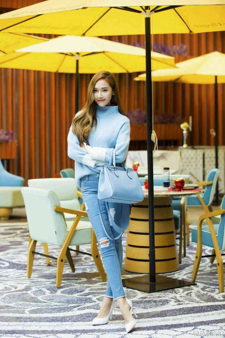 All You Need To Know To Dress In Denim Like Jessica Jung — Koreaboo