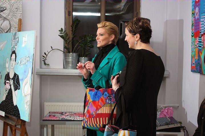Ilona Felicjańska i Magdalena Woźniak
