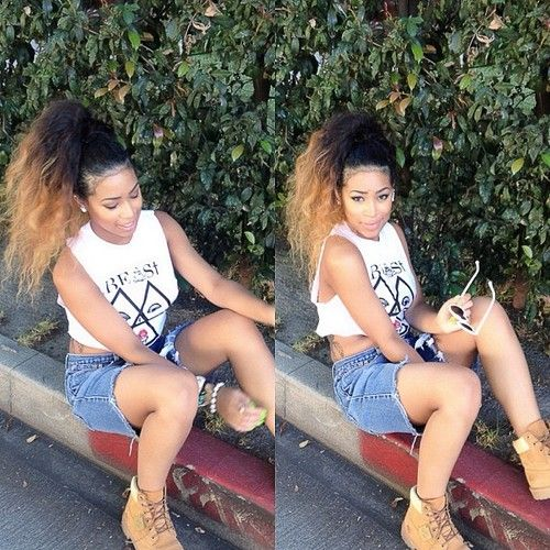 College Hairstyle Afrocentric Hair Pinterest College