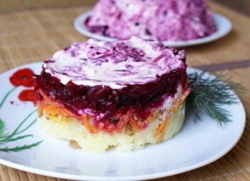 Овощной салат. Основные ингредиенты: | Шедевры кулинарии