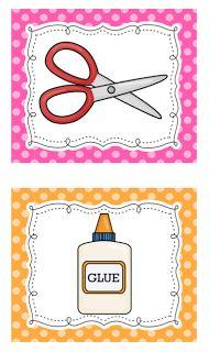 Freebie: visual task cards Mrs. Ricca's Kindergarten: Classroom Management