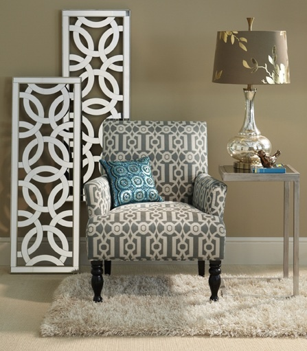 Etonnant Pier 1 Hayworth Wall Panels And C Table With The Ironwork Liliana Armchair
