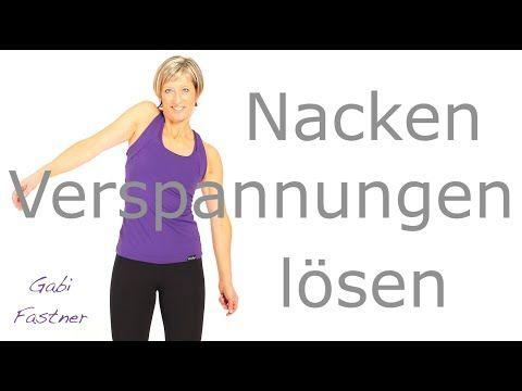 Nackenverspannungen lösen ohne Hilfsmittel – YouTube – Heike Rosenbusch