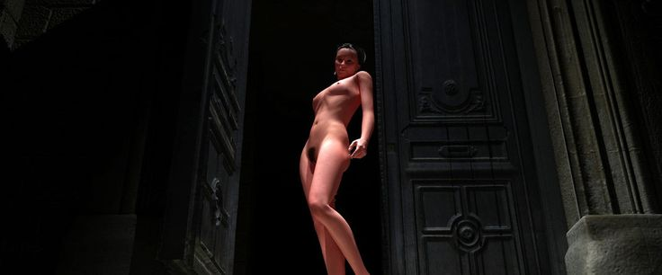 Galerie der nackten alten Frau