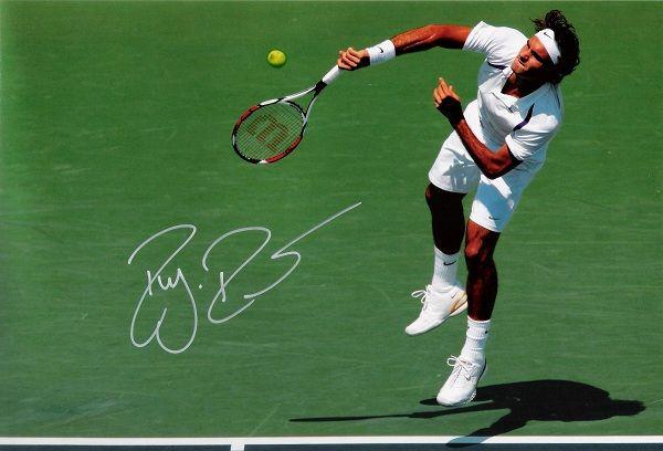 Roger Federer Signed Photo