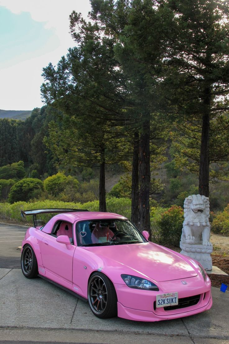 Pink S2000 Dream Cars Japan Cars Cars And Coffee