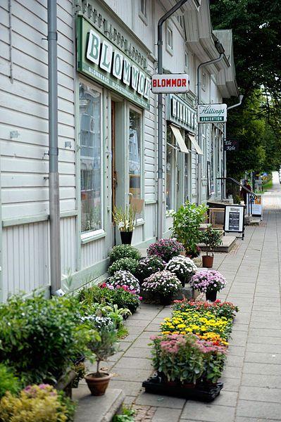 Trade, Urban life, Mariehamn, Åland Islands, Finland. Photo Johannes Jansson