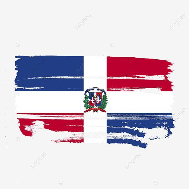 Bandera De La Republica Dominicana Transparente Con Pincel De Acuarela Republica Dominicana Bandera De La Republica Dominicana Vector De Bandera De Republica Bandera De Republica Dominicana Dia De La Republica Imagenes