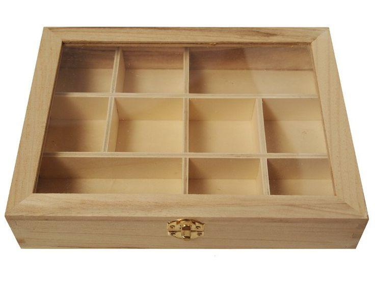 Wooden Window Box
