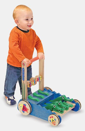 Infant Melissa & Doug Chomp & Clack Alligator Push Toy *affil link