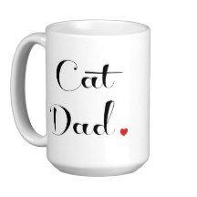 Cat Dad Mug | Zazzle
