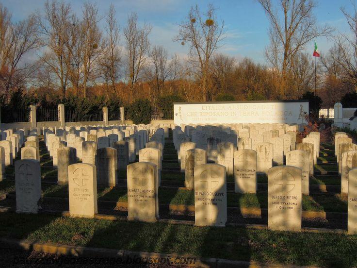 patrząc w jedną stronę: Cmentarz Żołnierzy Włoskich