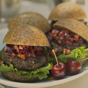 Cherry Burgers | Rainier Fruit Company