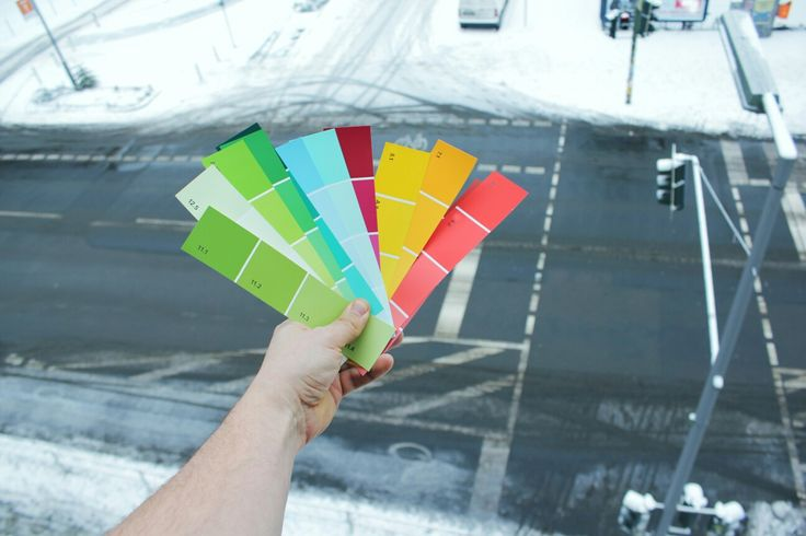 Just adding some colours to this winter awesomeness.... #winter #color #colorchart #diy #creative #snow #cold