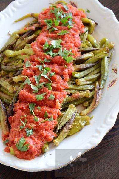 Soslu Bamya Kavurması – Sağlıklı Mutfak