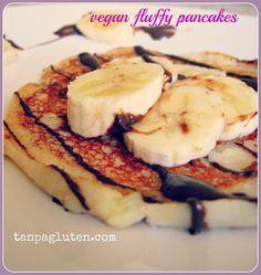 resep bebas gluten: fluffy pancake tanpa telur
