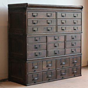 Drawer Storage Cabinet Wood