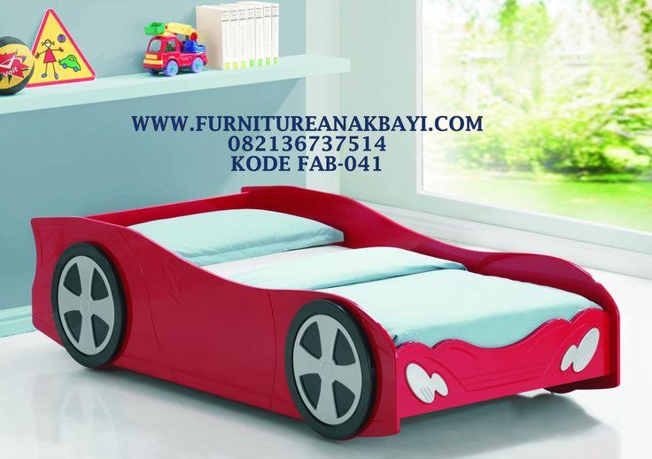 Harga Ranjang Anak Karakter Mobil James, Jual Ranjang Anak Model Mobil Sport, Ranjang Single Anak Laki Laki Mobil Terbaru Murah