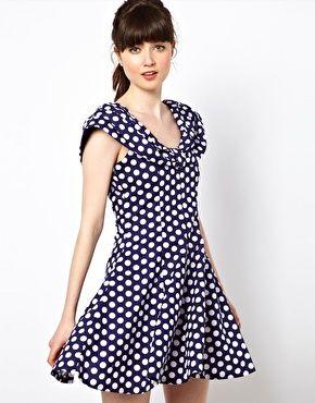 Pop Boutique 90s Polka Dress