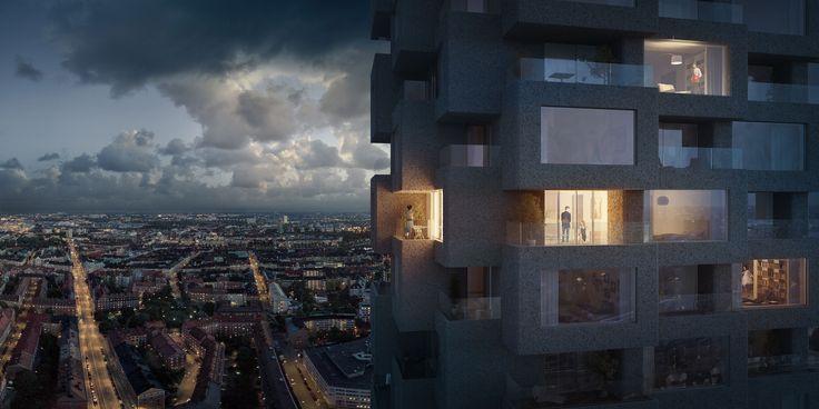 #oscarproperties architecture - design - facade - Norra Tornen - Oscar Properties - Norratornen - OMA