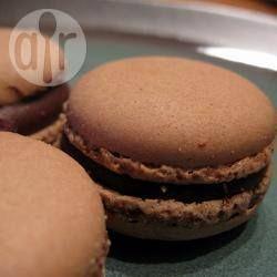 Chocolate Macaron @ allrecipes.com.au