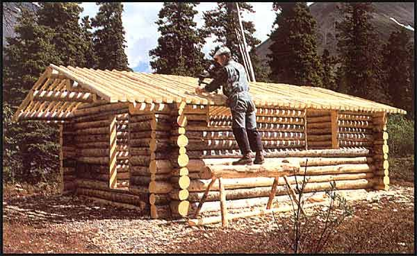 """Dick Proenekke's cabin - An amazing man and story, watch """"Alone in the Wilderness"""" ...."""