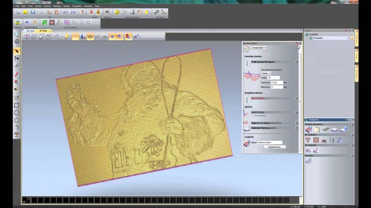 Getting Started In CNC With ArtCAM Express 2012