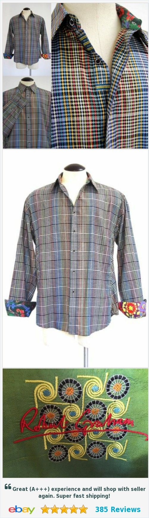 ROBERT GRAHAM XXL Slim Fit Button Shirt Textured Cotton Silk Contrast Cuffs | eBay http://www.ebay.com/itm/ROBERT-GRAHAM-XXL-Slim-Fit-Button-Shirt-Textured-Cotton-Silk-Contrast-Cuffs-/253066084051?ssPageName=STRK:MESE:IT