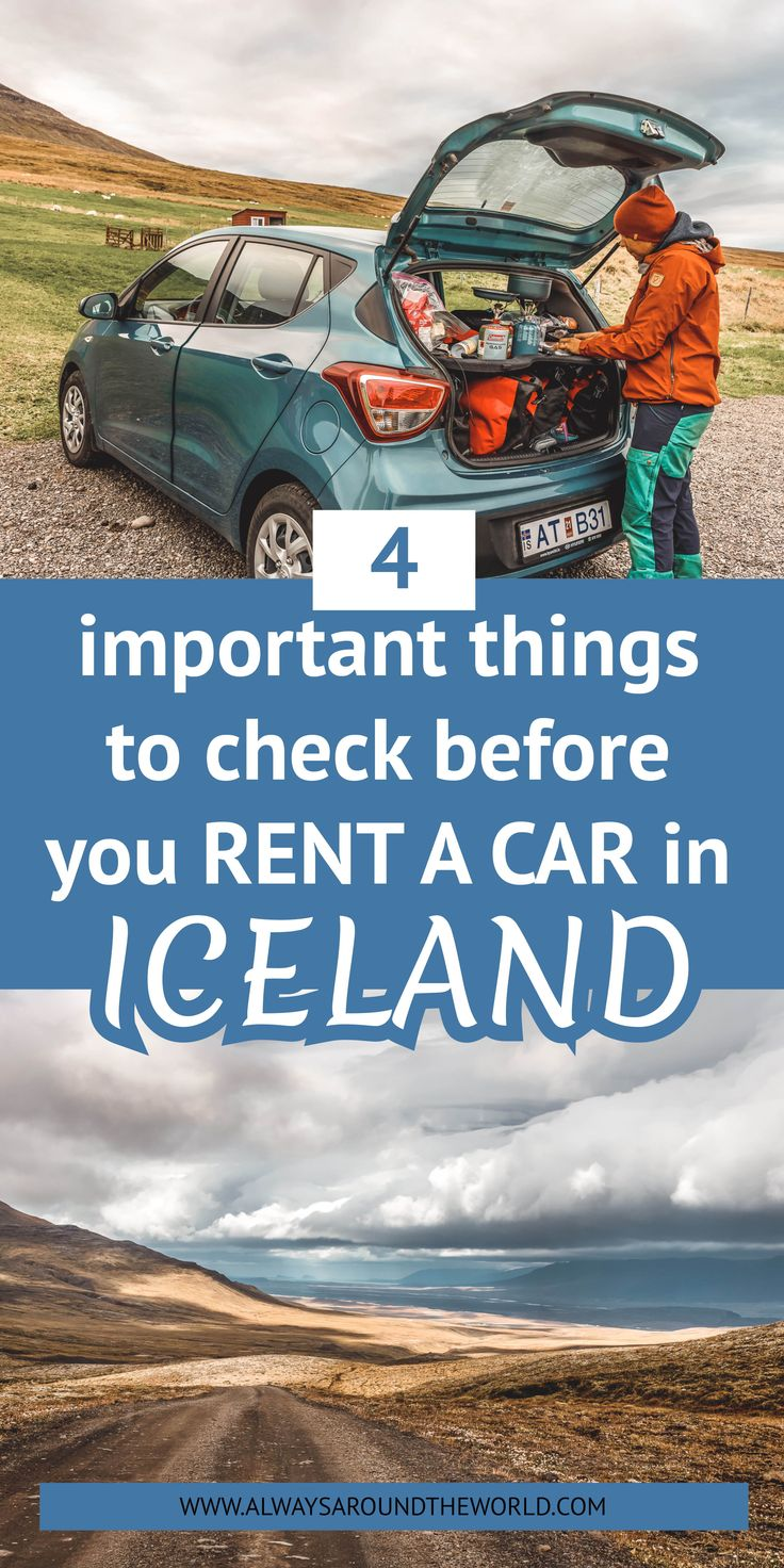 Car Rental In Iceland The Complete Guide In 2020