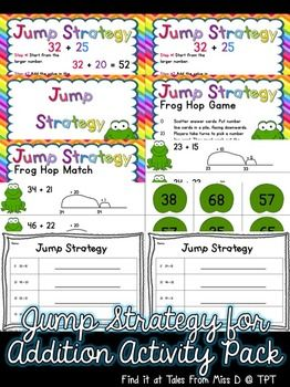 Number lines, Worksheets and Frogs on Pinterest