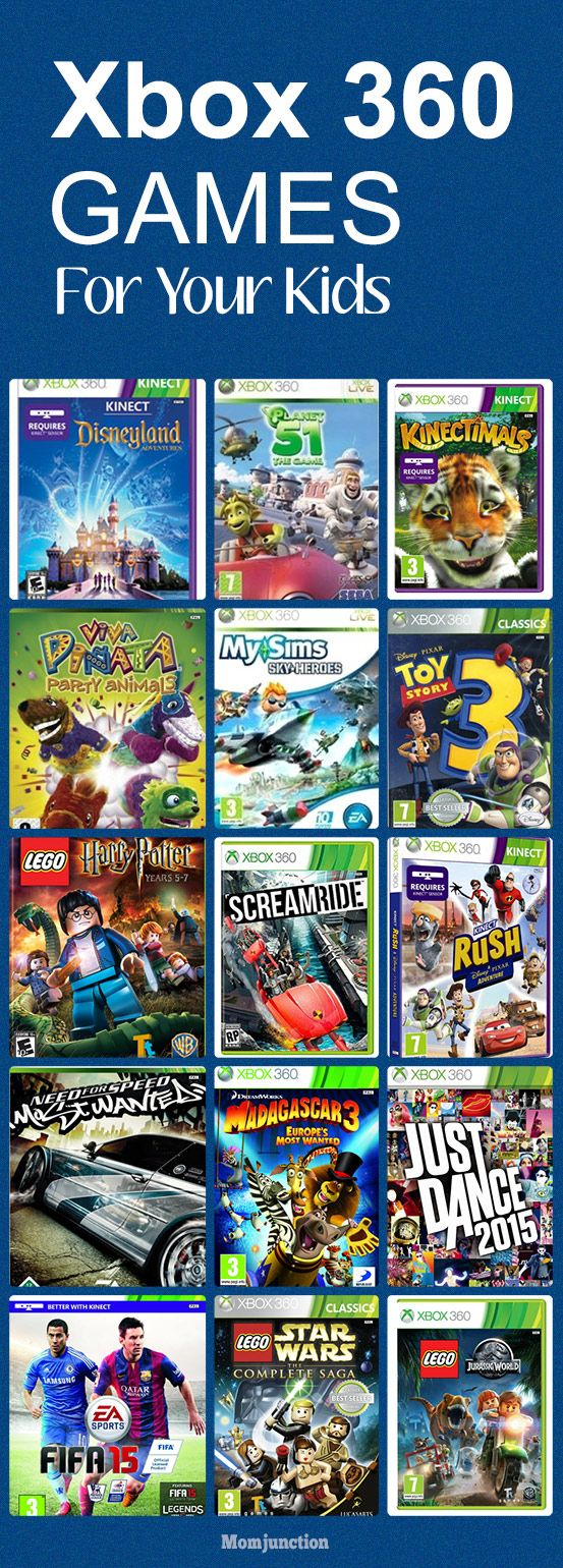15 Best Xbox 360 Games For Your Kids