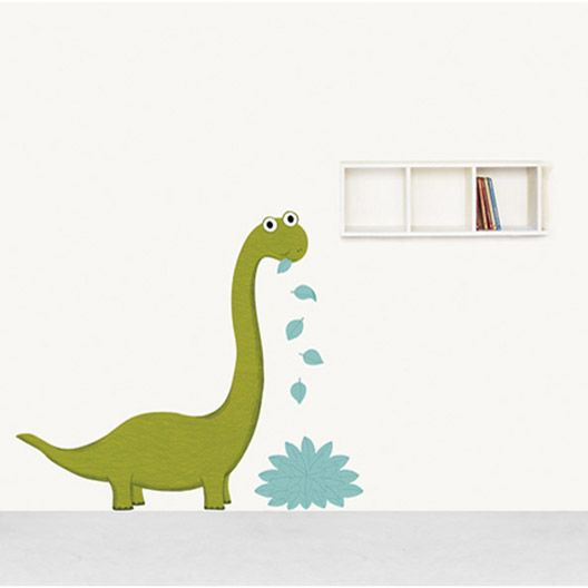 Sticker Monsieur Dino, 50 x 70 cm