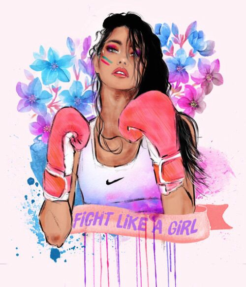 Feminista feminismo feminism girl power igualdade fight like a girl illustration