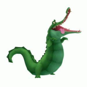 how to make a peter pan crocodile costume
