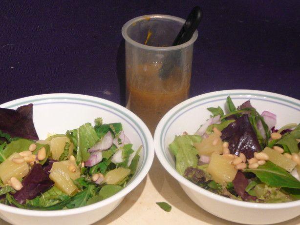 Arugula Pineapple Salad