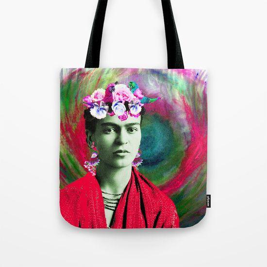 #TShirt #FridayFeeling #friyay #frida #sale #Society6 #stylish #onlineshopping #styles #boutique #love #art #freedom https://society6.com/product/frida-love498529_bag#s6-7113476p29a26v196