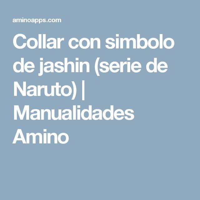 Collar con simbolo de jashin (serie de Naruto) | Manualidades Amino