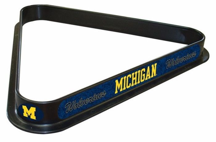 Use this Exclusive coupon code: PINFIVE to receive an additional 5% off the Michigan Wolverines Logo Billiard Triangle Rack at SportsFansPlus.com