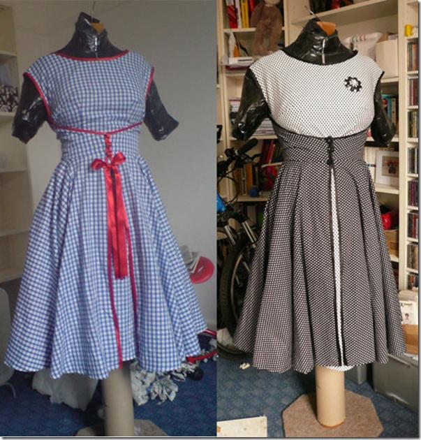 Butterick 6015 walk away dress