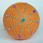 Common division types in temari marking - a tutorial for all temari stitchers