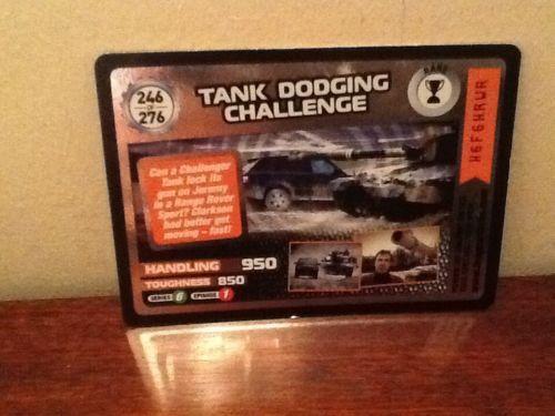 Top Gear Turbo Challenge RARE Tank Dodging Challenge 246/276