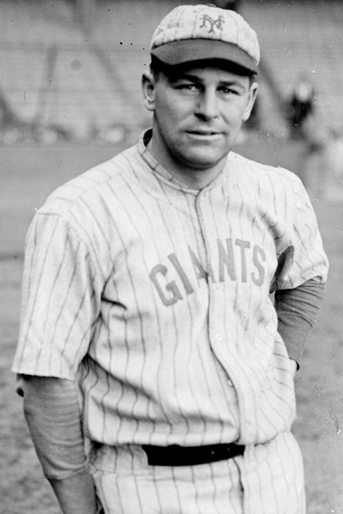 Ross Youngs - elected to National Baseball Hall of Fame in 1972