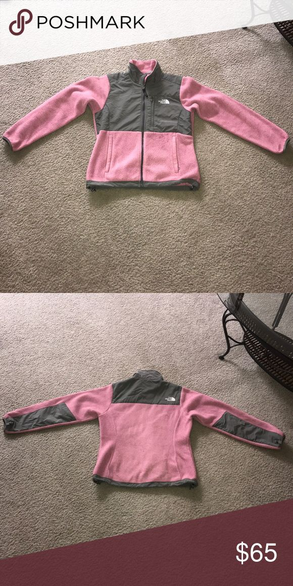 Pink/Gray Northface Winter Jacket This pink/gray northface jacket has been worn several times and is still in good condition! Message me with any questions price negotiable North Face Jackets & Coats