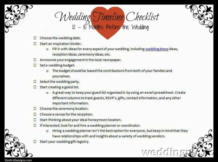 The Ultimate Wedding Planning Checklist How To Plan A Wedding: 17 Best Ideas About Wedding Checklist Template On