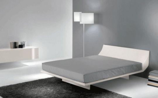 foto kamar tidur minimalis sederhana dengan tempat tidur modern | Jaaru