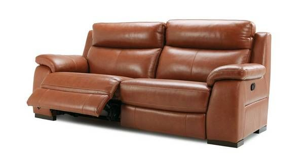 Crofton 3 Seater Manual Recliner Brazil With Leather Look Fabric Dfs Ireland Recliner Crofton Recliner Chair