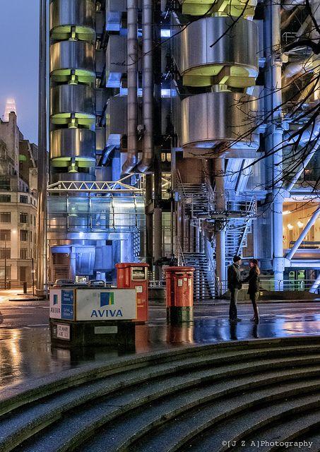 Lloyds of London, Richard Rogers