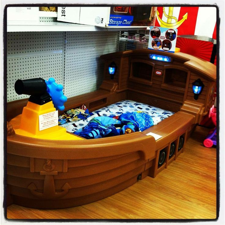 Little Tikes Pirate Ship Toddler Bed Connor Pinterest