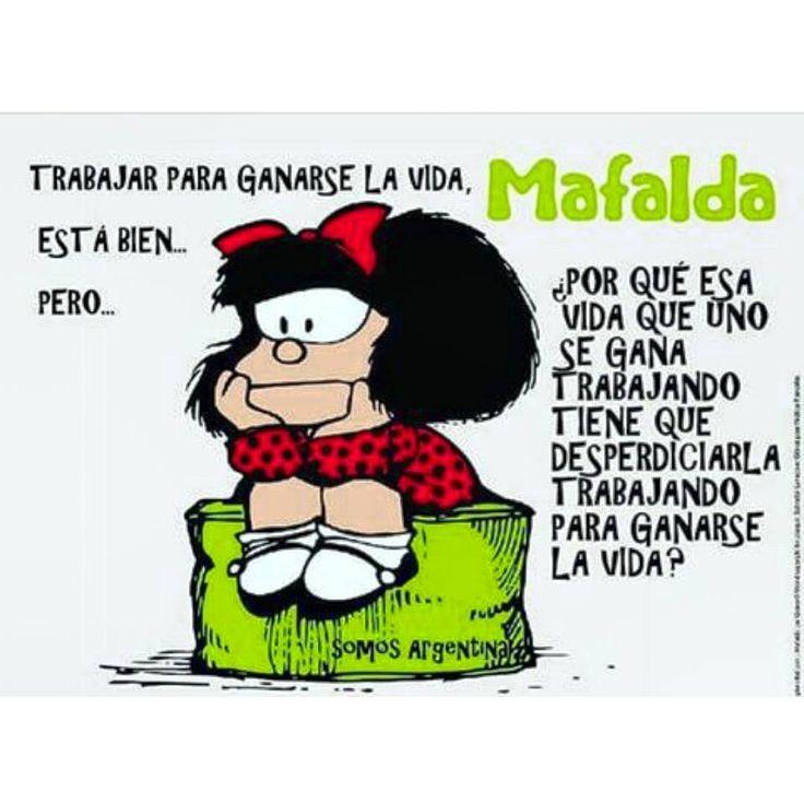 """16 Me gusta, 1 comentarios - Elena MS (Utopía) (@philos_sophia_mundo_loco) en Instagram: """"#frases #reflexiones #citas #pensamientos #fotos #imagenes #mundoloco #mafalda"""""""