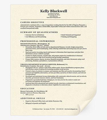 this resume template is our most popular and for good reason it is a simple but effective resume design this template is suitable for general us - Effective Resume